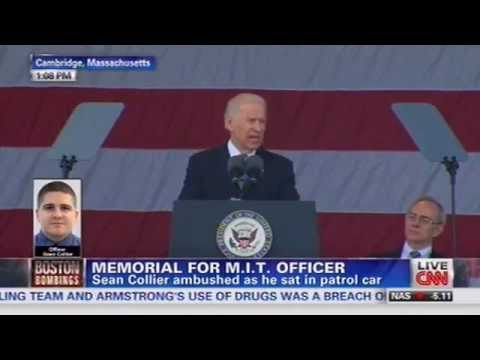 Biden: Tsarnaev Bros. 'Twisted, Perverted, Cowardly, Knock-off Jihadis'
