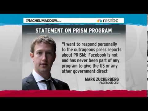 Rachel Maddow - The NSA AT&T Spying 'Secret Room' & PRISM