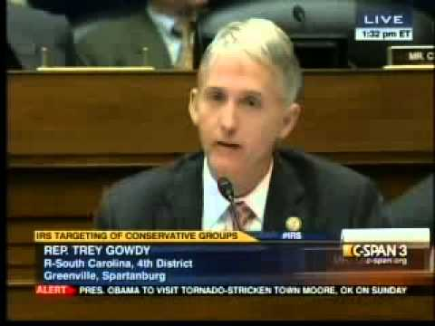 """As Stupid As The Speaker"" Rep. Trey Gowdy Grills IRS Comm Shulman"