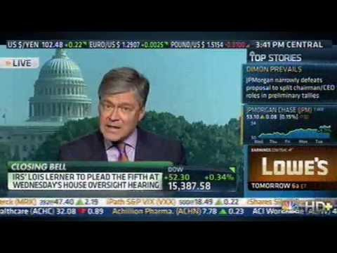 CNBC's Harwood: Lerner Pleading Fifth Is Worst Possible Outcome For W.H.