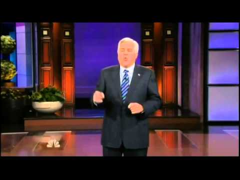 Leno's Opening Monologue Goes After The Obama Administration