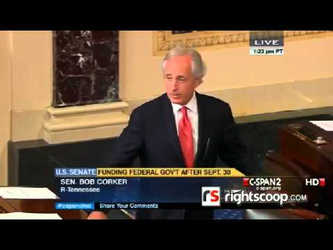 Sen. Corker attacks Sen. Cruz on Senate floor