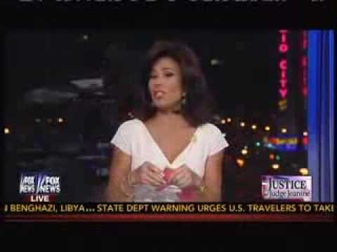 Judge Jeanine's Opening Statement Hammers Obama ~ 8-3-13