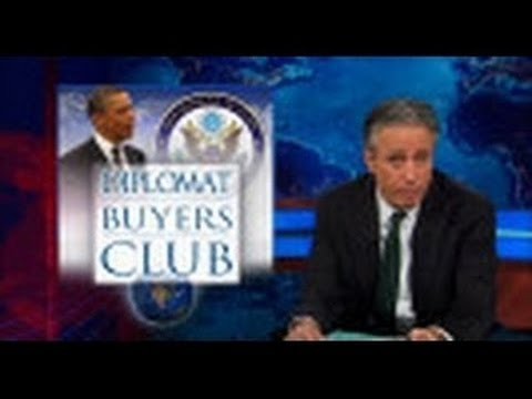 WATCH: The Daily Show with Jon Stewart Diplomat Buyers Club