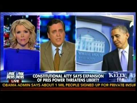Constitutional Atty Says Expansion Of Pres Power Threatens Liberty - Jonathon Turley -The Kelly File