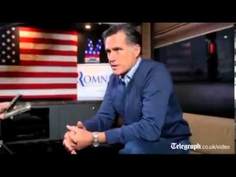 Mitt Romney About Obama and Putin and China