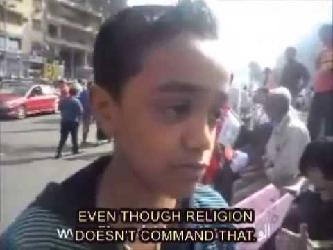 Must See:12 Year Old Egyptian Boy Will Give You Faith in Humanity