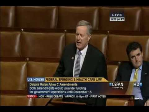 """WATCH Congressman Hammer Obama On House Floor: """"We Did Not Elect A Dictator!"""""""