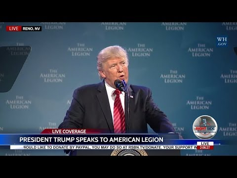 FULL SPEECH: President Trump Speaks at National Convention of the American Legion 8/23/17