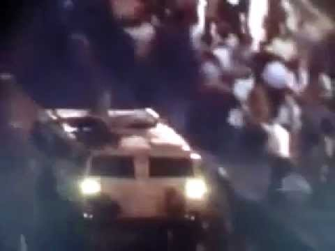 Al Arabia TV:Christians Copts Genocide by Muslim Egyptian Army,Run over them with Army tanks P-1