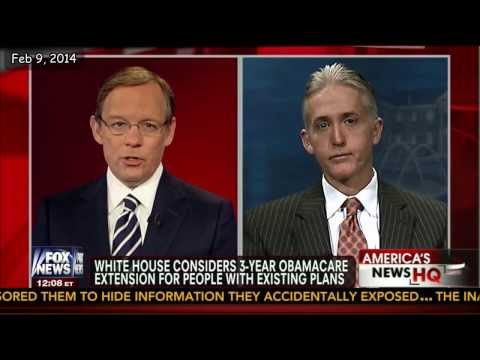 Trey Gowdy Demolishes Obama and Obamacare in 5 Minutes!