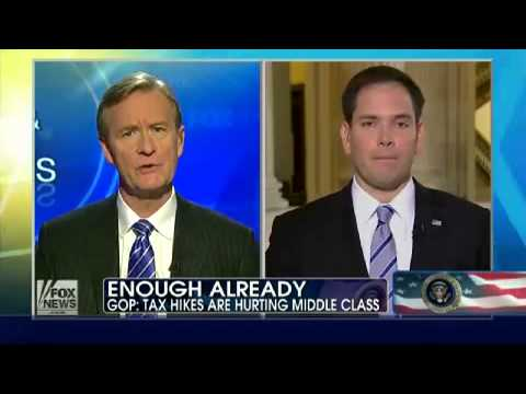 With Humor - Marco Rubio Responsd on Fox with the Viral Water Bottle in Hand