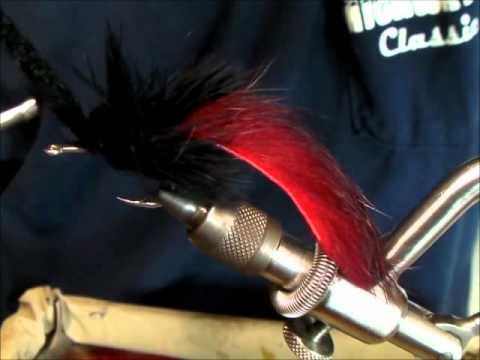 How to tie a Black Death Tarpon Toad