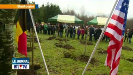RTLTVI Bastogne Tree Planting Ceremony