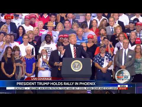 FULL SPEECH: President Donald Trump Holds MASSIVE Rally in Phoenix, AZ 8/22/17
