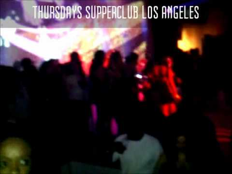 Hollywood hottest party Supperclub Thursdays