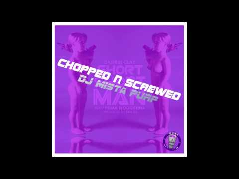 Dashius Clay - Short Short Man (Chopped N Screwed) By DJ Mista Purp
