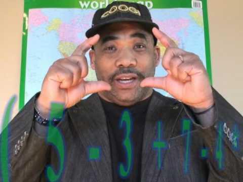 Teacher Raps About Math/PEMDAS -Mr.O
