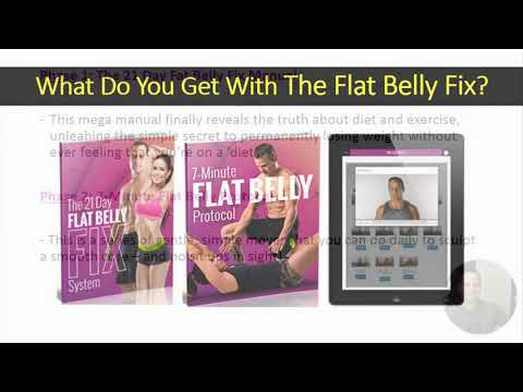 The Flat Belly Fix Review and Special Price + Bonuses