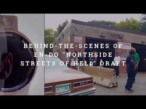 "Behind-the-scenes for En-Do ""Northside Streets of Hell"""