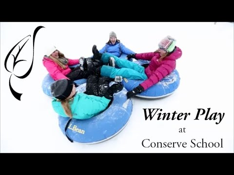 Winter Play at Conserve School