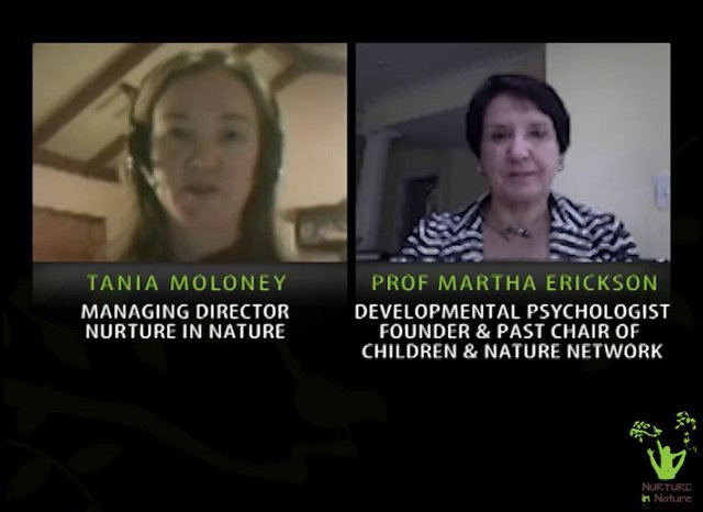 TANIA MOLONEY FROM NURTURE IN NATURE INTERVIEWS PROFESSOR MARTHA (MARTI) ERICKSON