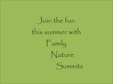 Family Nature Summits  2012