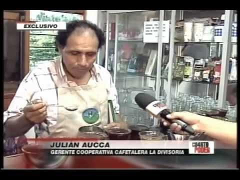 """El cafe que venció la coca en el VRAE (""""Cuarto Poder"""" 2/10/2011)"""