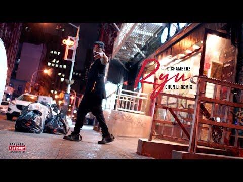 """D.Chamberz """"Ryu"""" (Chun-Li Remix) [Official Video] Dir by Comatose Rose"""