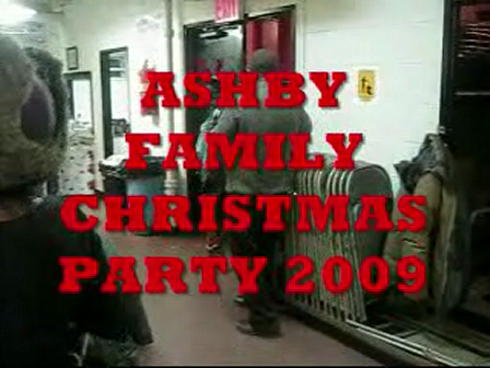 Ashby Family Christmas Party Video 2009