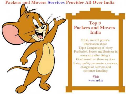 Top 3 Movers And Packers India