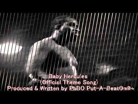 Baby Hercules 1st Round KO + Official Theme Song by PaBO Put-A-BeatOn®
