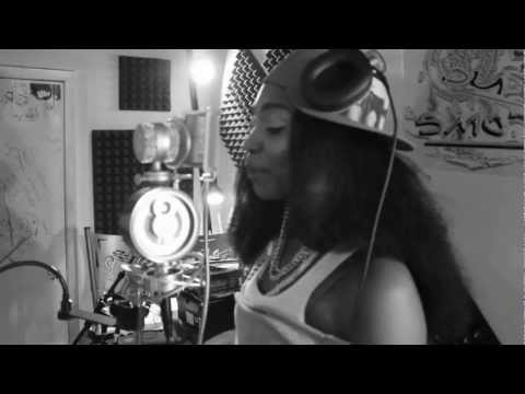 SOMEBODY'S  DAUGHTER @REMEMBERmeNINAB NAS ' DAUGHTERS ' COVER in studio ft @purplechrome