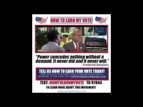 Tell Us How To Earn Your Vote Today!