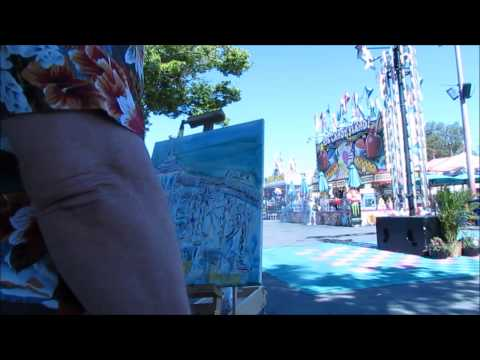CALIFORNIA STATE FAIR PLEIN AIR CONTEST finish