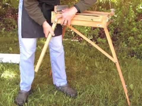 How to Set up a French Easel