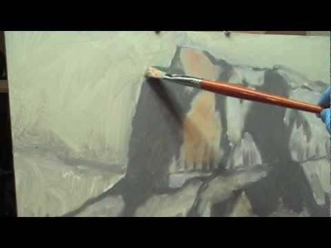 Plein Air Painting Essentials Preview:  Fixing Light & Shadow with Greys