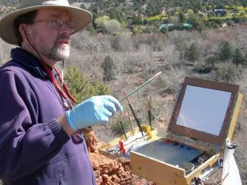Plein Air Painting Workshops 2013/2014 in Sedona, Arizona - PaintSedona