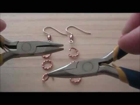 Pinx Jewelry Copper Earrings Tutorial
