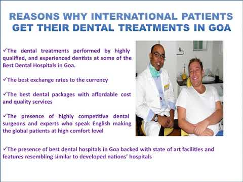 Dental Tourism Goa | Dental Treatments in Goa | Best Dental Hospitals in Goa