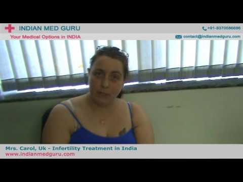 Mrs. Carol from UK shares her view about Infertility Treatment in Delhi