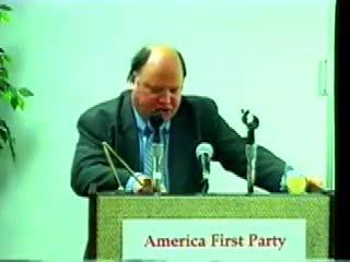 Grossack Speaks to the America First Party