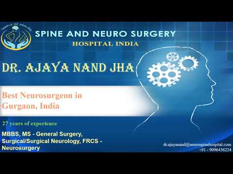 Dr  Ajaya Nand Jha, Best Neurosurgeon in Gurgaon, India
