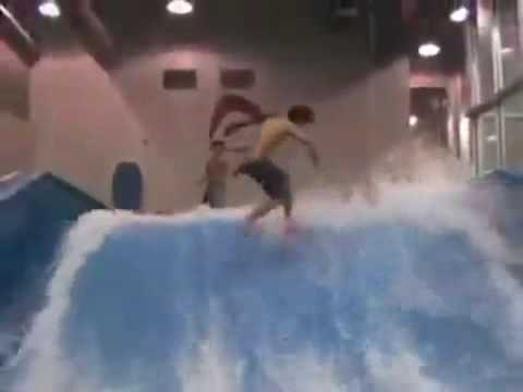 Sean Silveira on FlowRider