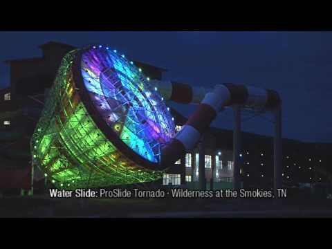 LED Waterpark Ride