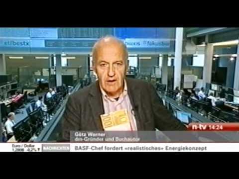 Götz Werner, Gründer der Drogeriekette dm, vertraut seinen Mitarbeitern