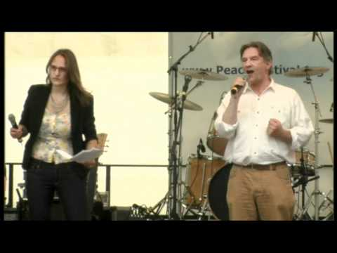 Ralph Boes (Kroenungswelle) auf dem Friedensfestival