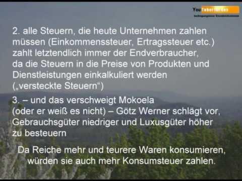 Re: Was Götz W. Werner verschweigt …