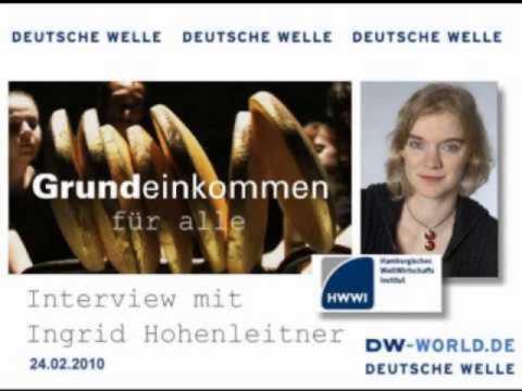 Grundeinkommen Für Aalle -- Interview mit Ingrid Hohenleitner