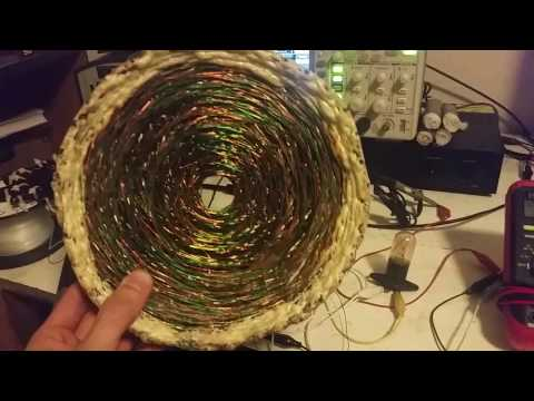 Vortex Coil Testing Resonance